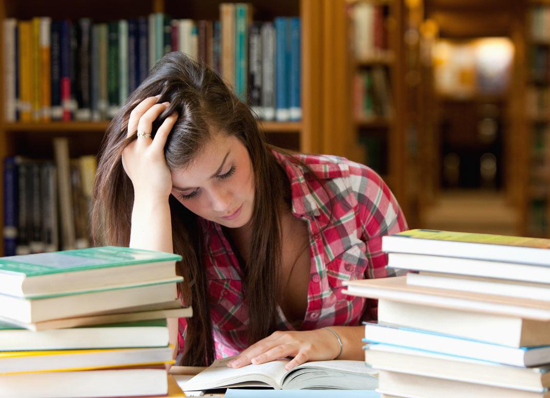 studiare per ore