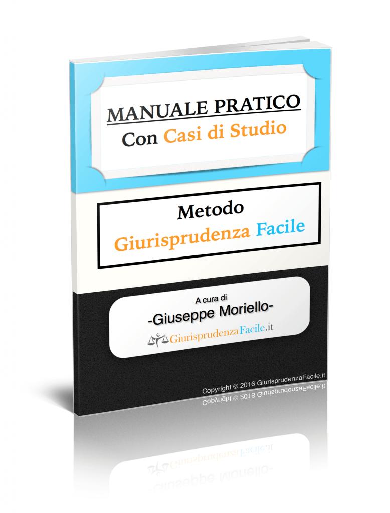manuale pratico metodo di studio giurisprudenza facile