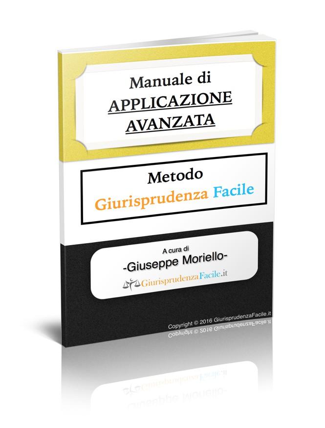 manuale applicazione avanzata giurisprudenza facile